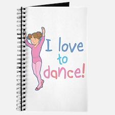 Love Dance Ballet Girl 1 Journal