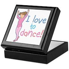 Love Dance Ballet Girl 1 Keepsake Box