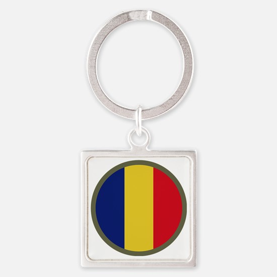 Army Training and Doctrine Command Square Keychain