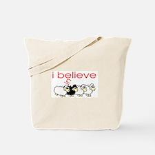 I believe in Sheep Tote Bag