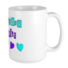RESPIRATORY HEARTS BLUE PURPLE Mug