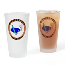 RESPIRATORY PRECEPTOR BROWN Drinking Glass