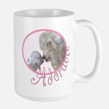 GOAT Adorable Baby Pink Large Mug