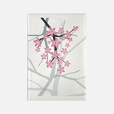 Sakura Rectangle Magnet