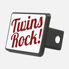 TwinsRockred Hitch Cover