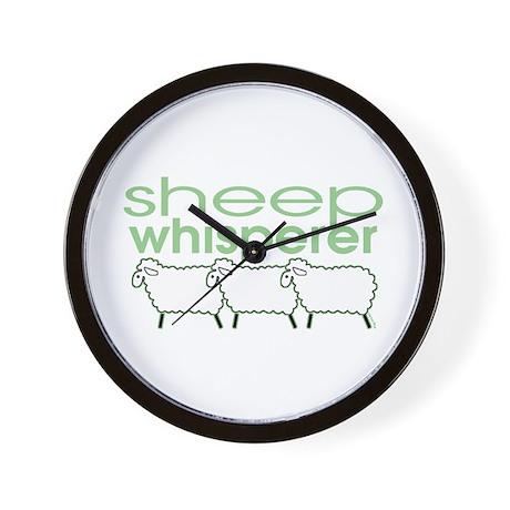 Sheep Whisperer Wall Clock