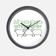 Sheep Whisperer Wall Clock