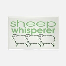 Sheep Whisperer Rectangle Magnet