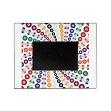 Billiards / Pool Balls in a Spiral Picture Frame