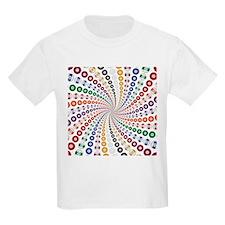 Billiards / Pool Balls in a Spiral T-Shirt
