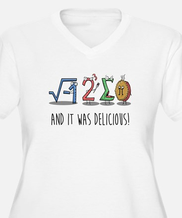 I 8 Sum Pi Math Teacher Pun Gift Plus Size T-Shirt