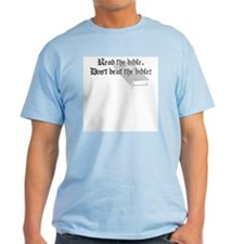 Read/Don't Beat the Bible T-Shirt