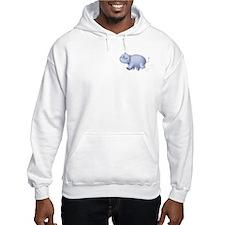 Indigo Hippo Hoodie