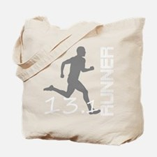 131runner10inBLK Tote Bag