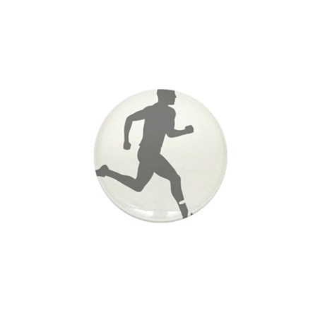 131runner10inBLK Mini Button