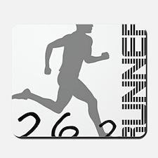 262runner6in Mousepad