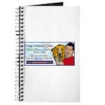 Man Hugs Dog-Color Journal