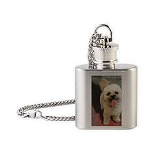 Lilly-TriPodDogDesign Flask Necklace