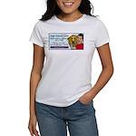 Man Hugs Dog-Color Women's T-Shirt