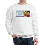 Man Hugs Dog-Color Sweatshirt