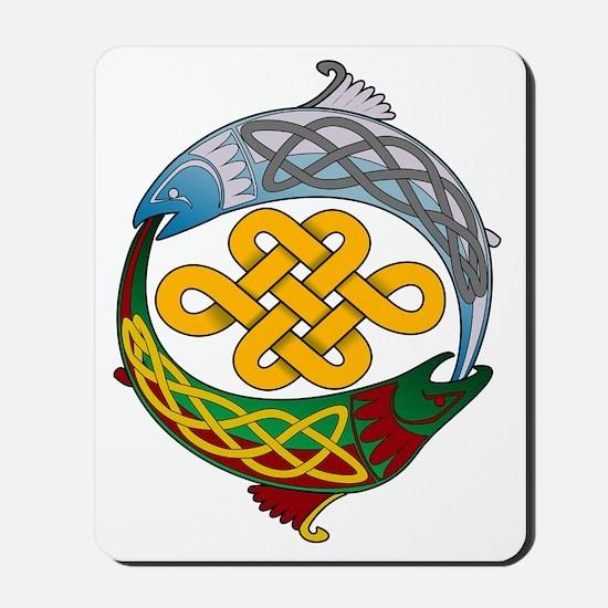 Celtic-Fish Mousepad