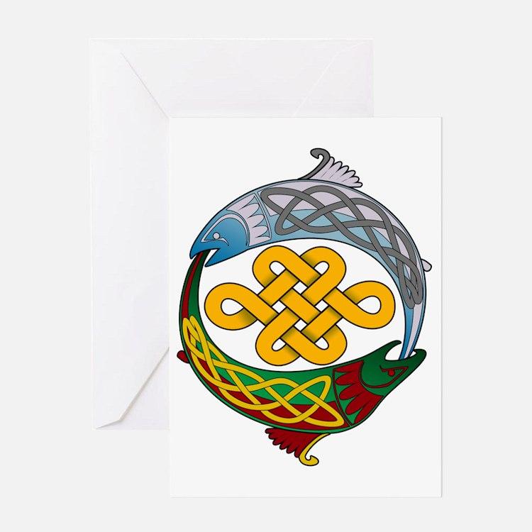 Celtic-Fish Greeting Card
