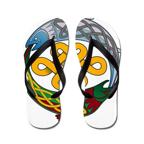 Celtic fish flip flops by admin cp15259259 for Fish flip flops