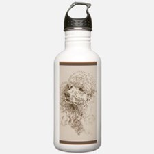 Standard_Poodle_KlineZ Water Bottle