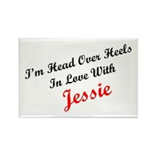 In Love with Jessie Rectangle Magnet