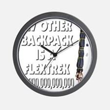 my-other_backpack Wall Clock
