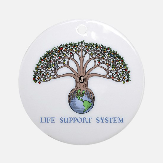 Life Support Ornament (Round)