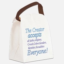 The Creator Canvas Lunch Bag