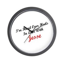 In Love with Jesse Wall Clock