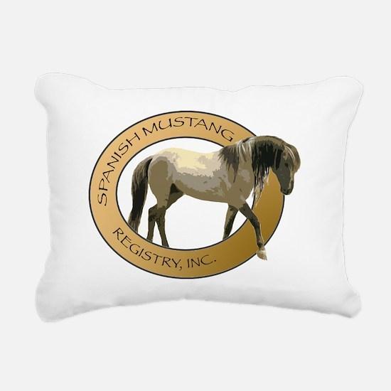SMRLogoINC-lrg Rectangular Canvas Pillow