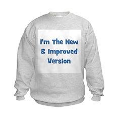 New & Improved - Blue Sweatshirt