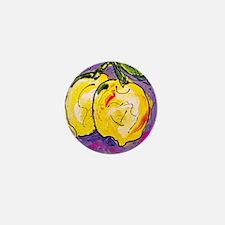 Crazy lemons Mini Button