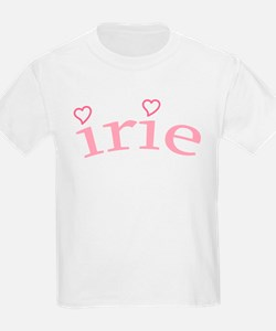 """""""Irie with Hearts"""" T-Shirt"""