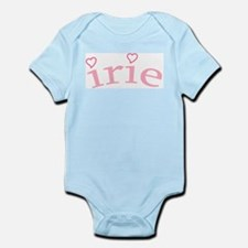 """""""Irie with Hearts"""" Infant Bodysuit"""