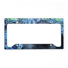 Black_Macaque-TriPodDogDesign License Plate Holder