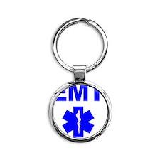 EMT Round Keychain