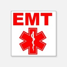 "emt Square Sticker 3"" x 3"""