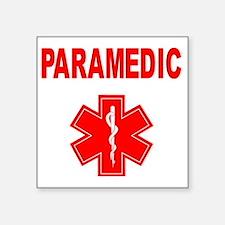"Paramedic Square Sticker 3"" x 3"""