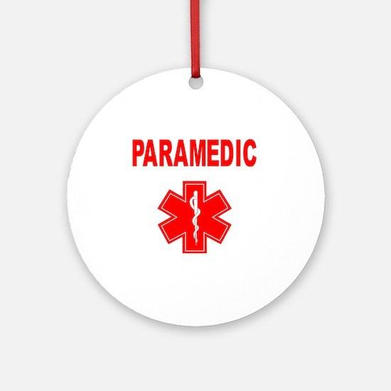 Paramedic Round Ornament