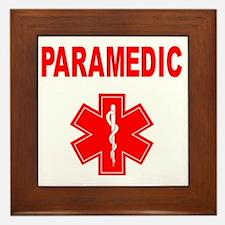 Paramedic Framed Tile