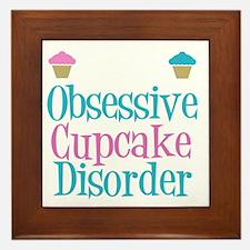 obsessivecupcakewh Framed Tile