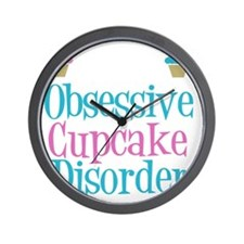 obsessivecupcakewh Wall Clock