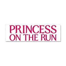 princess on the run Car Magnet 10 x 3