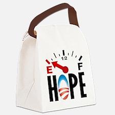 cp_hope_shirt_lt Canvas Lunch Bag