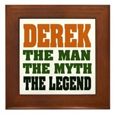 DEREK -the legend Framed Tile