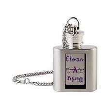 Fibro Flask Necklace